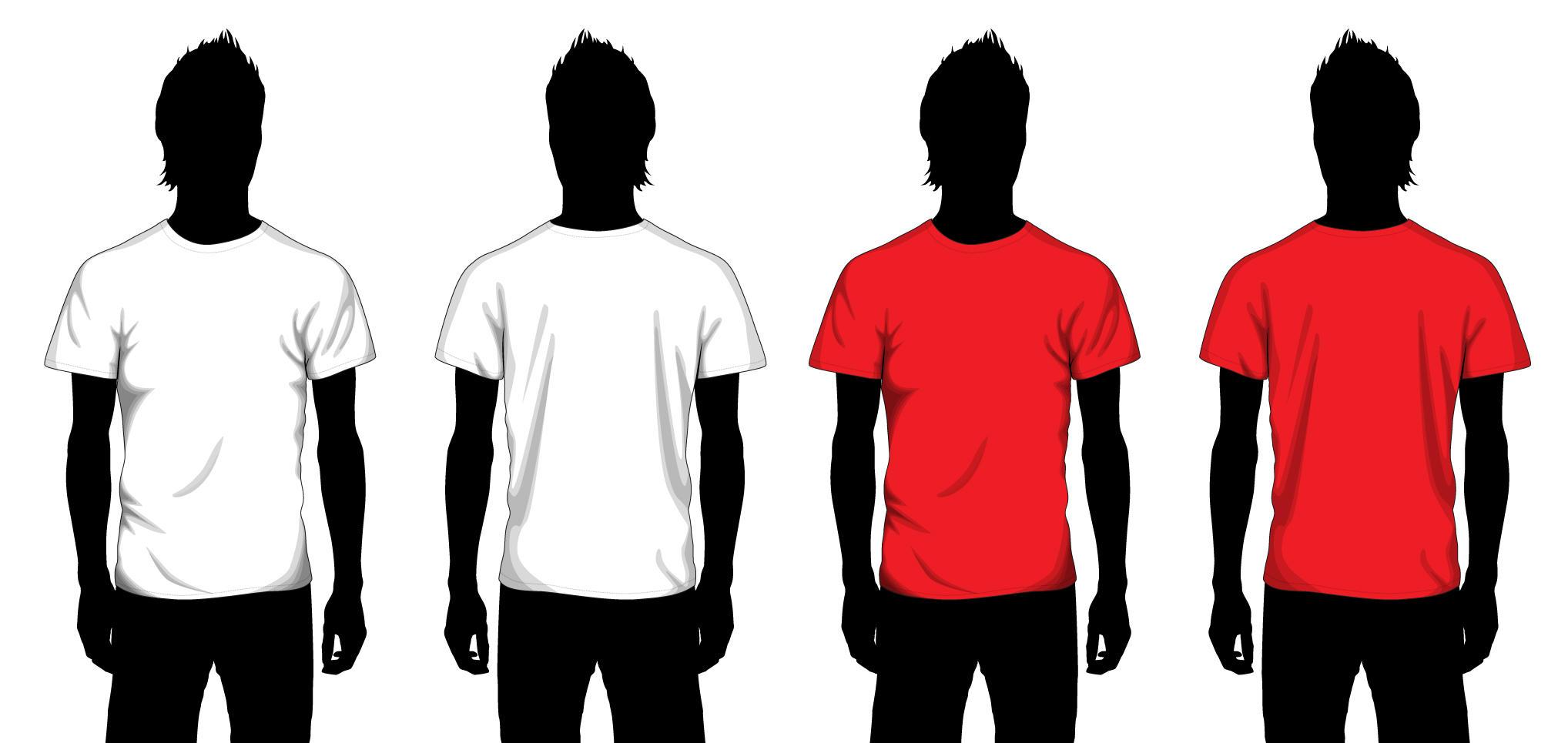 Vector T-shirt Template by JovDaRipper on DeviantArt