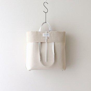 Maison Margiela    メゾン マルジェラ CANVAS LEATHER SHOPPING BAG #NATURAL [S35WC0133]