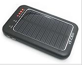 値下げ決行中!!USB/ソーラー発電ポータブル大容量バッテリー