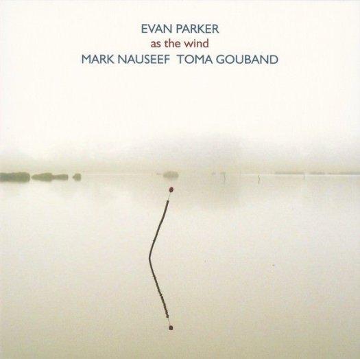 EVAN PARKER / As The Wind (CD)