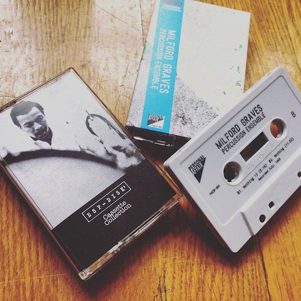MILFORD GRAVES / Percussion Ensemble (Cassette)