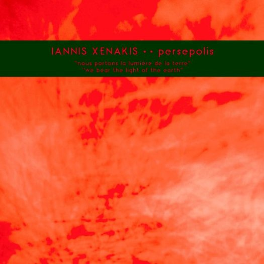 IANNIS XENAKIS / Persepolis (LP+DL)