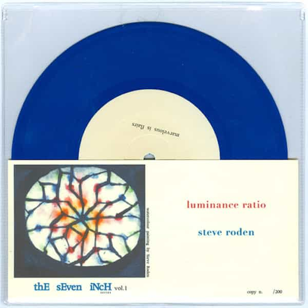 Luminance Ratio / Steve Roden (7