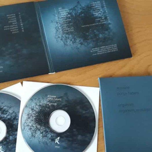 AROVANE & PORYA HATAMI / Organism_evolution (2CD)