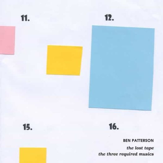 BEN PATTERSON / The Lost Tape & The Three Required Musics (LP)