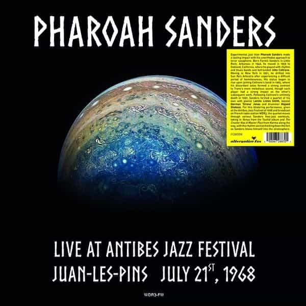 PHAROAH SANDERS / Live at Antibes Jazz Festival in Juan-les-Pins July 21, 1968 (LP)