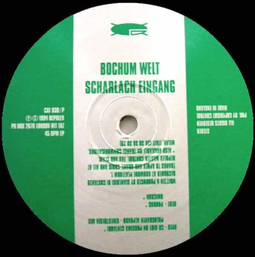 Bochum Welt / Scharlach Eingang