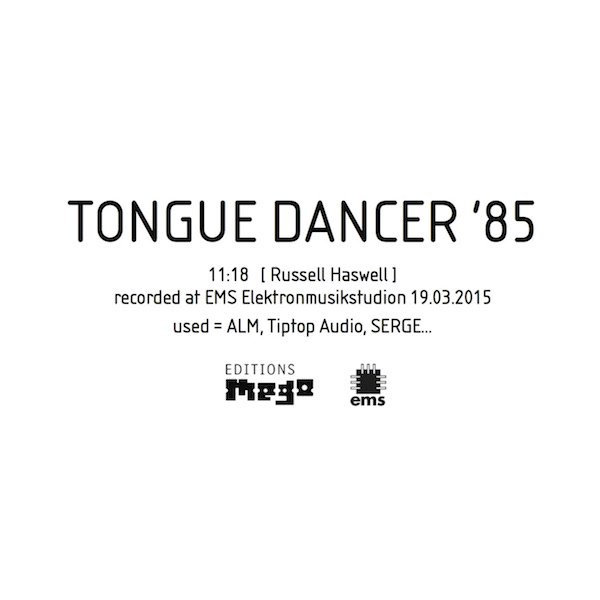 RUSSELL HASWELL / Tongue Dancer '85 (12 inch)