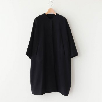 Atelier d'antan   アトリエダンタン - VERLAINE WOOL COAT #BLACK [A232202TC449]