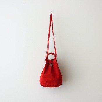 R&D.M.Co- OLDMAN'S TAILOR   オールドマンズテーラー _ GARMENT DYE DRAWSTRING BAG #RED [no.4640]