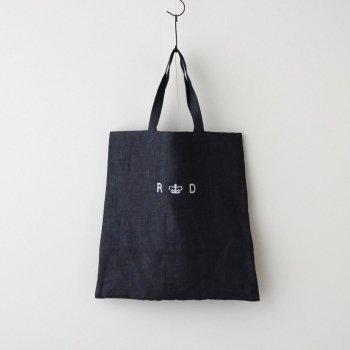 R&D.M.Co- OLDMAN'S TAILOR | オールドマンズテーラー _ LINEN DENIM TOTE BAG #INDIGO [no.4704]