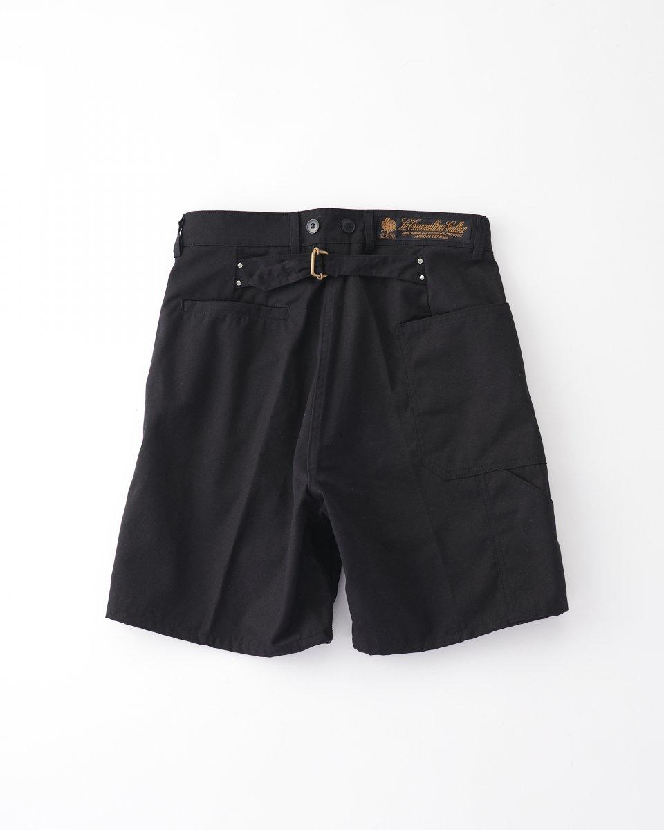 ショートパンツ 黒の写真