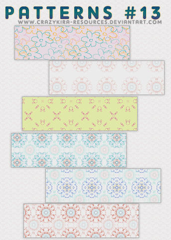Patterns .13 by crazykira-resources