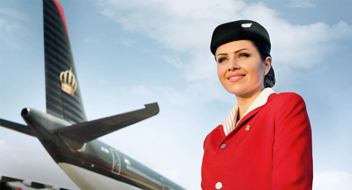 Royal Jordanian Flight Attendant