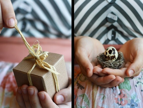Quail Egg Custom Pregnancy Announcements & Baby Shower Invitations - Crack and Reveal