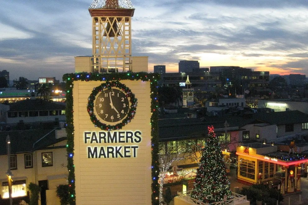 The Original Farmers Market Los Angeles Attractions