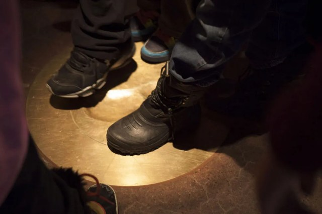 Stand in the footprint of the Indigenous people who came before