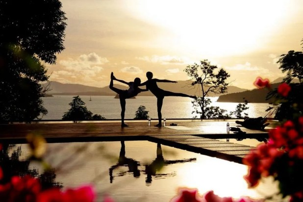 Deepen both your practice and relationship with a couples yoga session