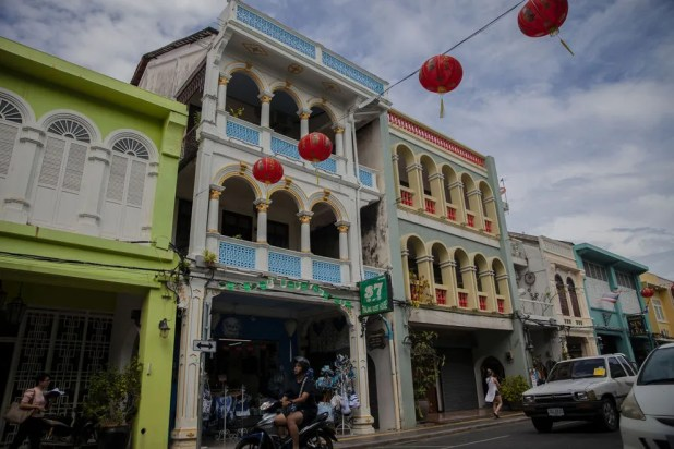 Enjoy the exciting sights and sounds of Thalang Road