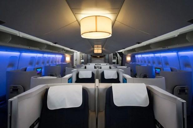 A peak inside British Airways' Club World