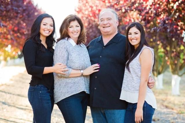 The Balletto Family - Caterina, Terri, John, Jacqueline - farming since the late 70s