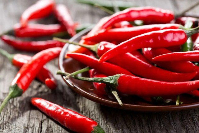 The capsaicin in chili peppers might keep you up at night