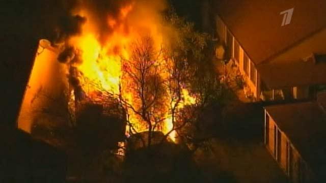 Лесные пожары в Калифорнии распространяются с огромной скоростью