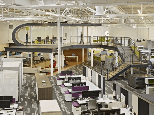 One Workplace por Design Blitz. Imagem © Bruce Damonte