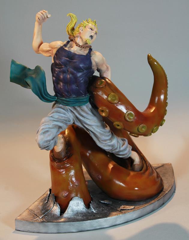 Crunchyroll Fan Made Final Fantasy VI Sabin Diorama