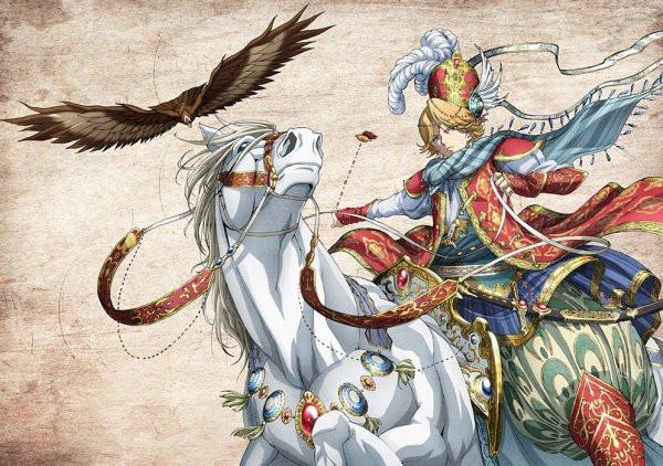 Resultado de imagen de shoukoku no altair anime gif