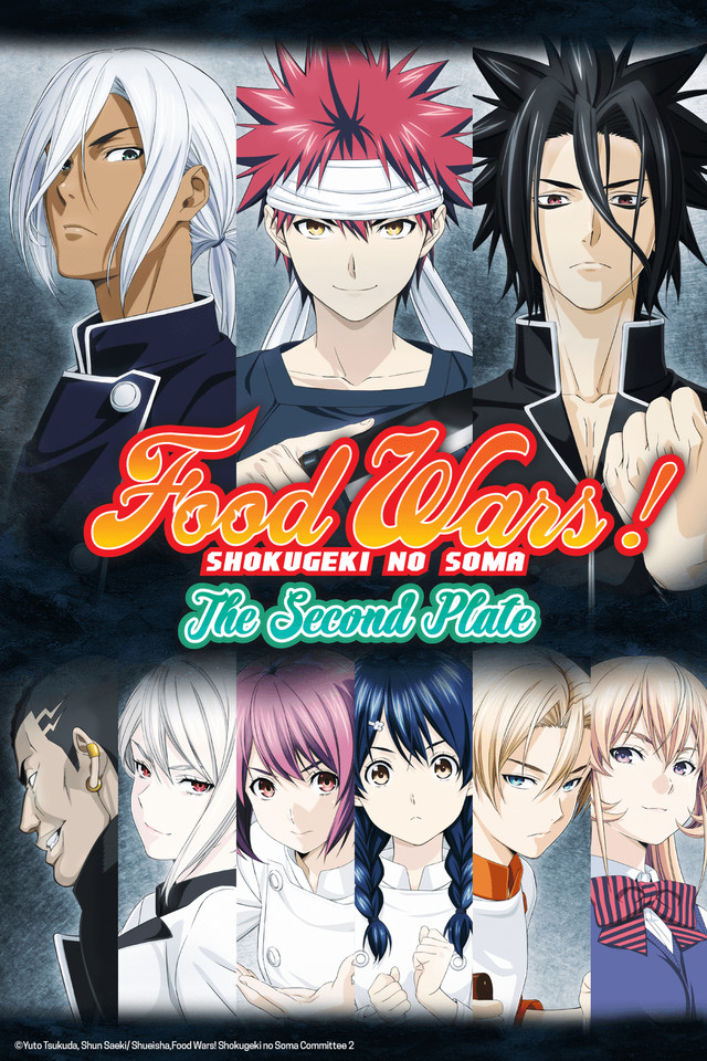 Image result for food wars the second plate
