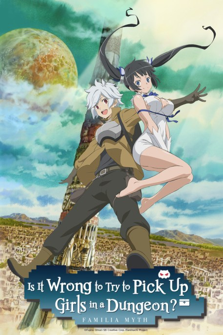 Is It Wrong To Try To Pick Up Girls In A Dungeon? anime review