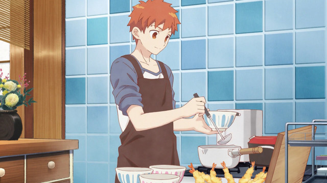 Image result for shirou fate cooking