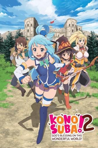KonoSuba: God's Blessing on this Wonderful World! anime review Box art