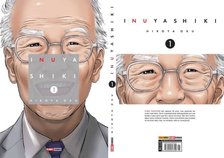 Resultado de imagem para capas mangá inuyashiki