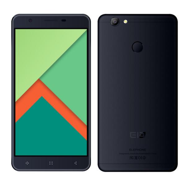 banggood Elephone C1X MTK6737 1.3GHz 4コア BLACK(ブラック)