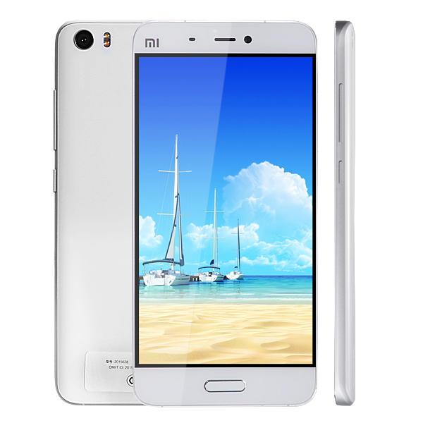 Xiaomi Mi5 5.15-inch 3GB RAM 32GB ROM Snapdragon 820 Quad Core 4G Smartphone