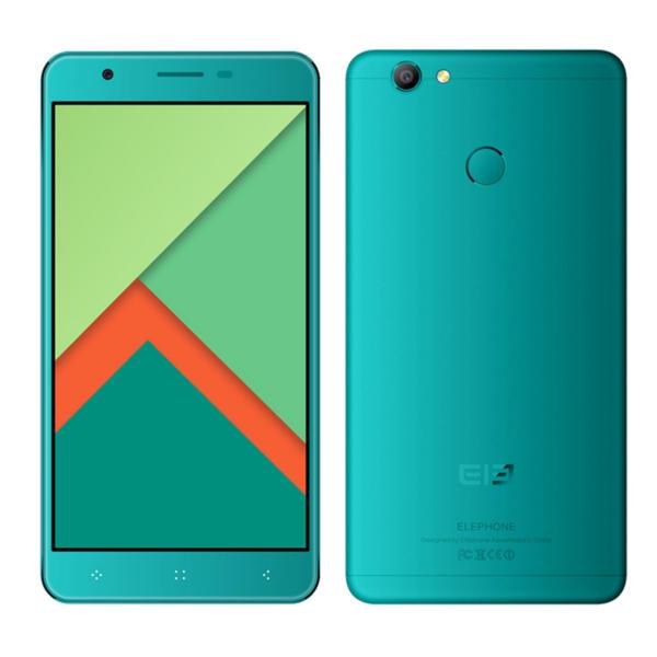banggood Elephone C1X MTK6737 1.3GHz 4コア PEACOCK BLUE(ピーコックブルー)