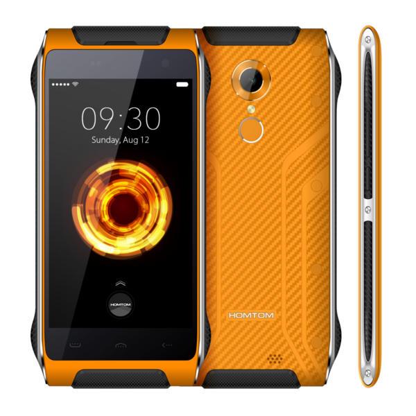 banggood HOMTOM HT20 Pro MTK6753 1.3GHz 8コア ORANGE(オレンジ)