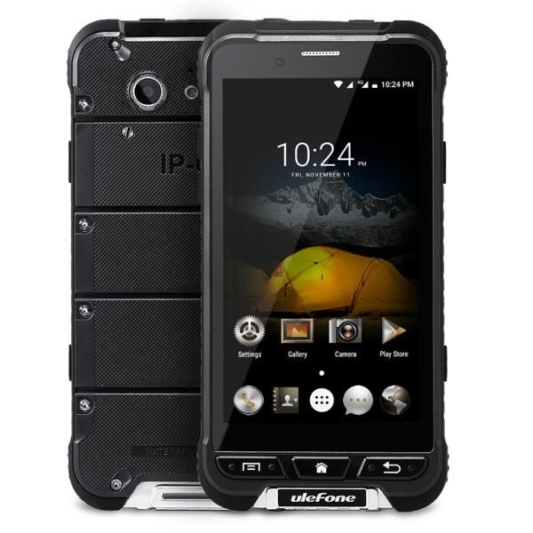 banggood Ulefone ARMOR MTK6753 1.3GHz 8コア BLACK(ブラック)