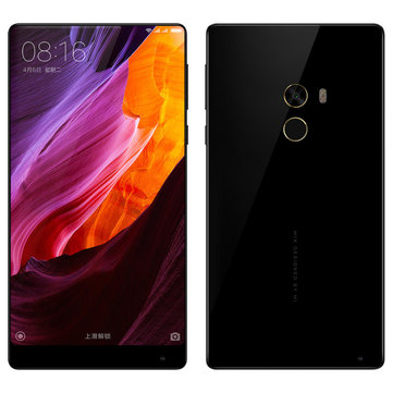 Xiaomi Mi MIX 18k 6.4 inch Edgeless Display 6GB RAM 256GB ROM Snapdragon 821 Quad Core 4G Smartphone