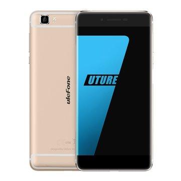 banggood Ulefone Future MTK6755 Helio P10 2.0GHz 8コア GOLDEN(ゴールデン)