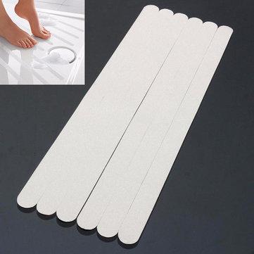 6Pcs PVC Bathroom Ceramic Tile Floor Anti Slip Stickers