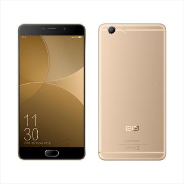 Elephone R9 5.5 inch Fingerprint 2GB RAM 16GB ROM Helio X20 MTK6797 Deca Core 4G Smartphone Gold