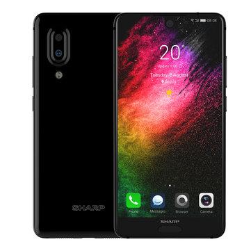 SHARP S2 Plus 5.5 Inch Dual Rear Camera 6GB RAM 128GB ROM Snapdragon 660 Octa Core 4G Smartphone