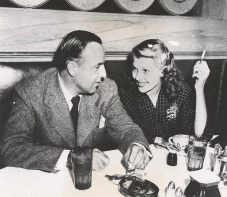 Rita Hayworth and Edward C. Judson