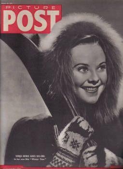 Sonja Henie - Picture Post Magazine Cover [United Kingdom] (30 October 1943)