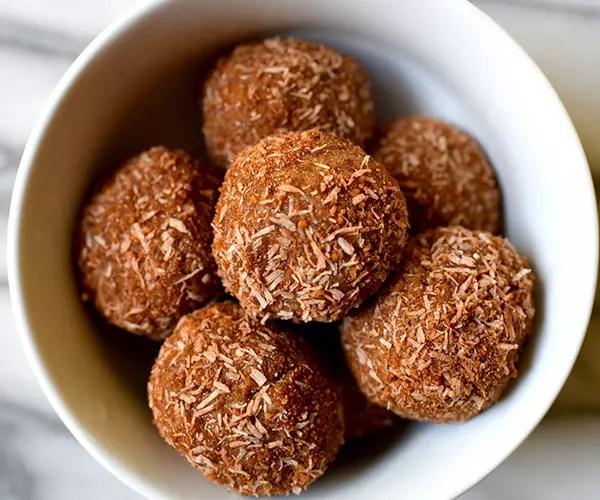 No-Bake Cinnamon Sugar Donut Holes