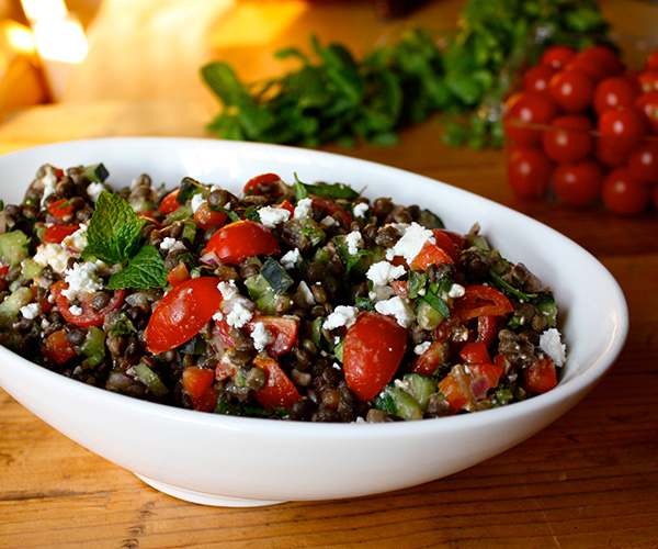 Lentil and Feta Salad