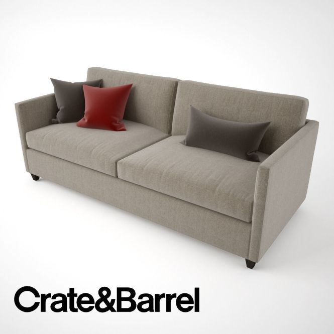 Crate And Barrel Dryden Apartment Sofa Model